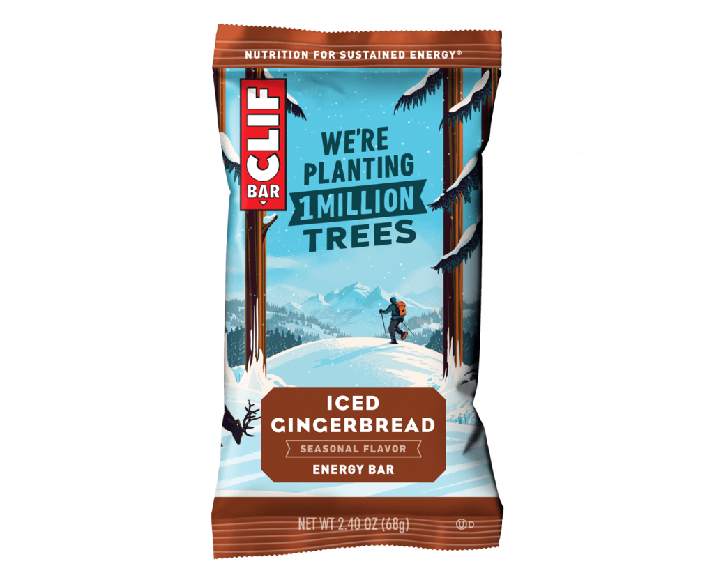 Iced Gingerbread Clif Bar