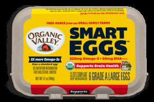 Omega 3 eggs label
