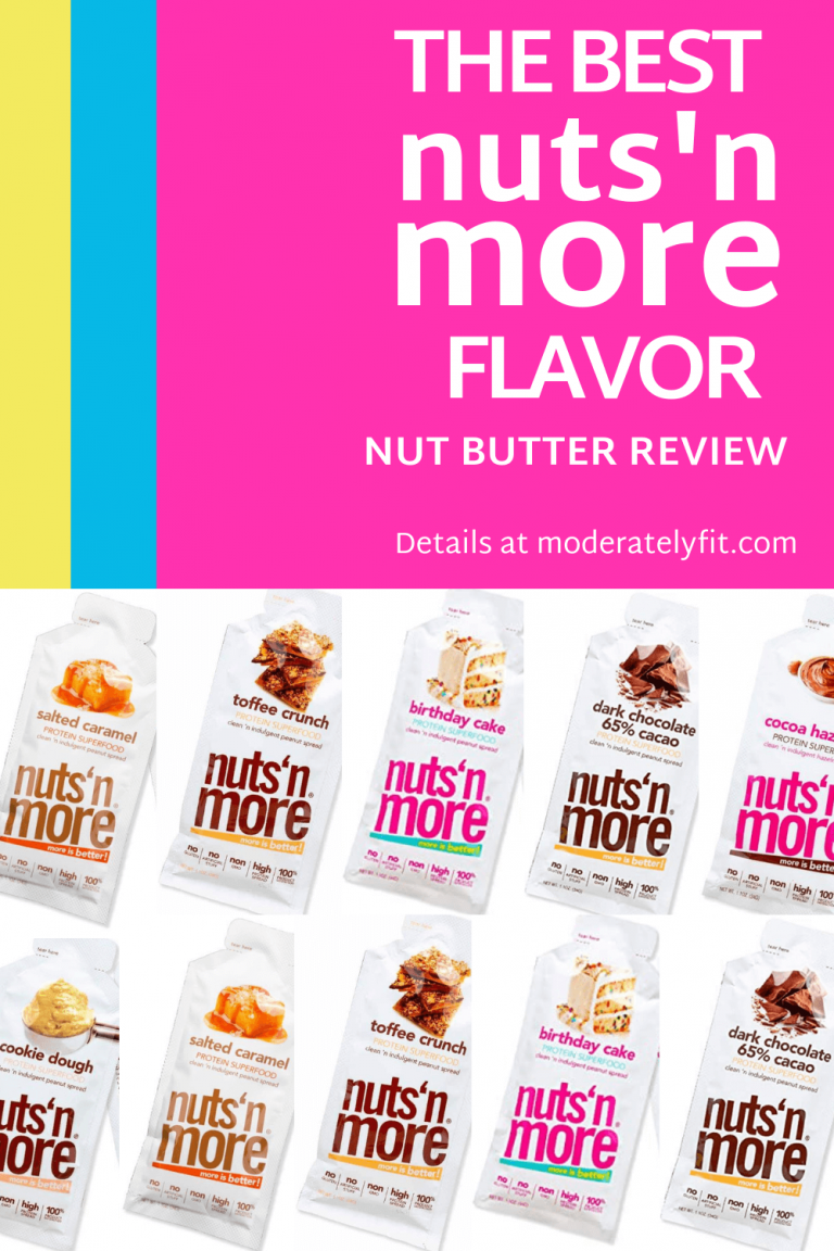 the best nuts n more flavor Pinterest image