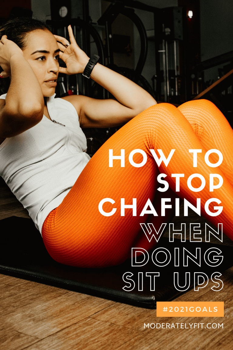 how to stop chafing when doing situps - Pinterest