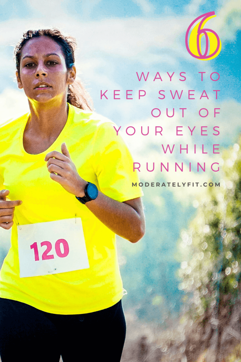6 ways to keep sweat out of your eyes when running