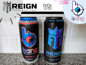 reign vs bang energy drink can images