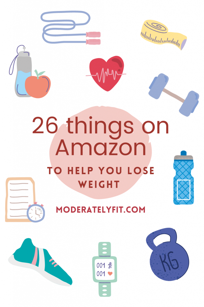 26 things on amazon to help you lose weight - pinterest pin