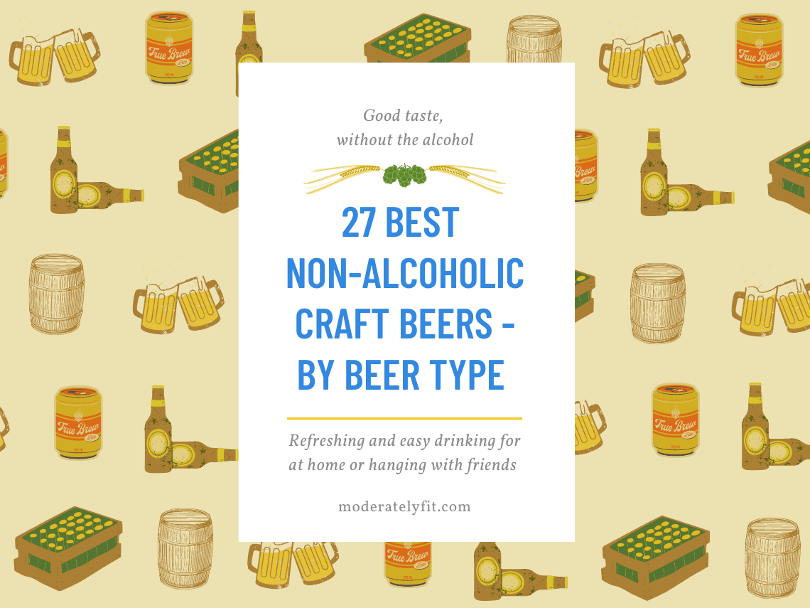 27 Best non-alcoholic craft beer – by beer type