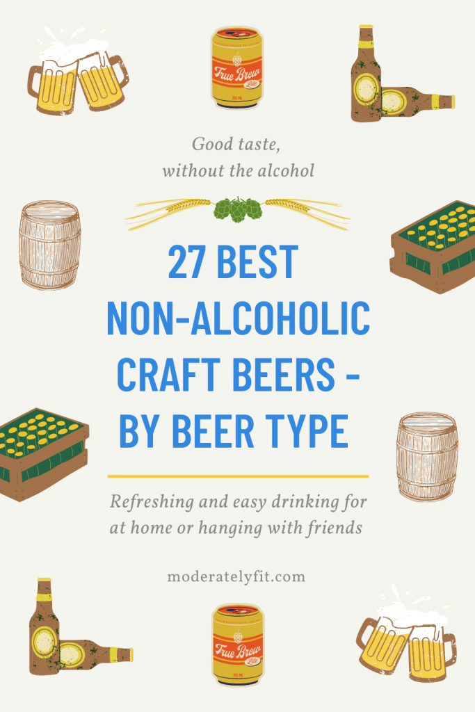 27 best non alcoholic craft beers by beer type pinterest pin