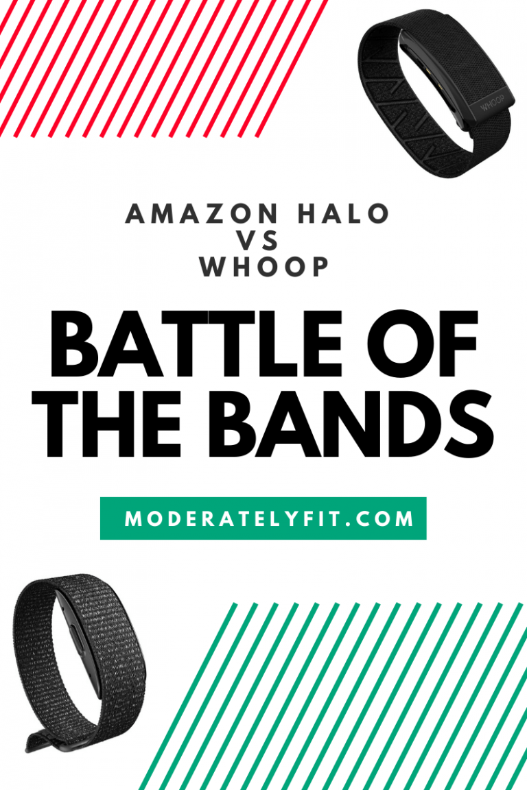 Amazon Halo vs Whoop Battle of the bands pinterest pin