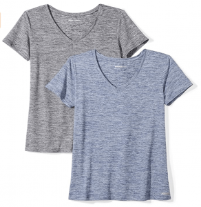Amazon essentials womens vneck tshirt