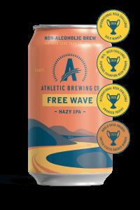 Athletic Brewing Co Free Wave Hazy IPA