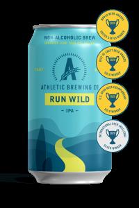 Athletic brewing co Run Wild IPA