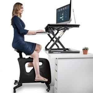 Flexispot Adjustable Exercise workstation bike desk