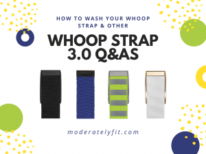 How to wash your whoop strap and other whoop strap 3.0 Q&As