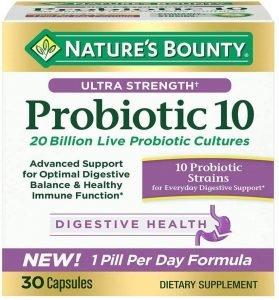 Nature's Bounty Probiotics