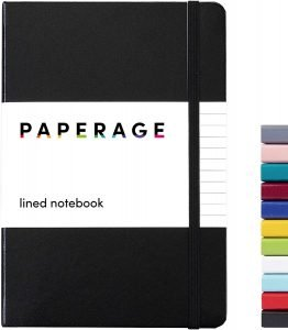 Paperage Lined Journal Notebook