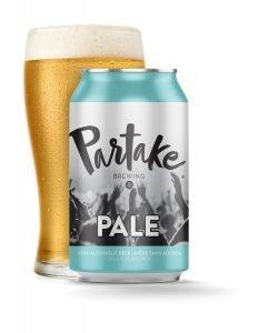 Partake brewing pale ale