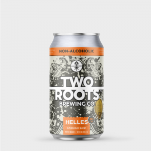 Two Roots brewing enough said lager