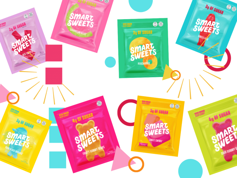 smartsweets candy collage