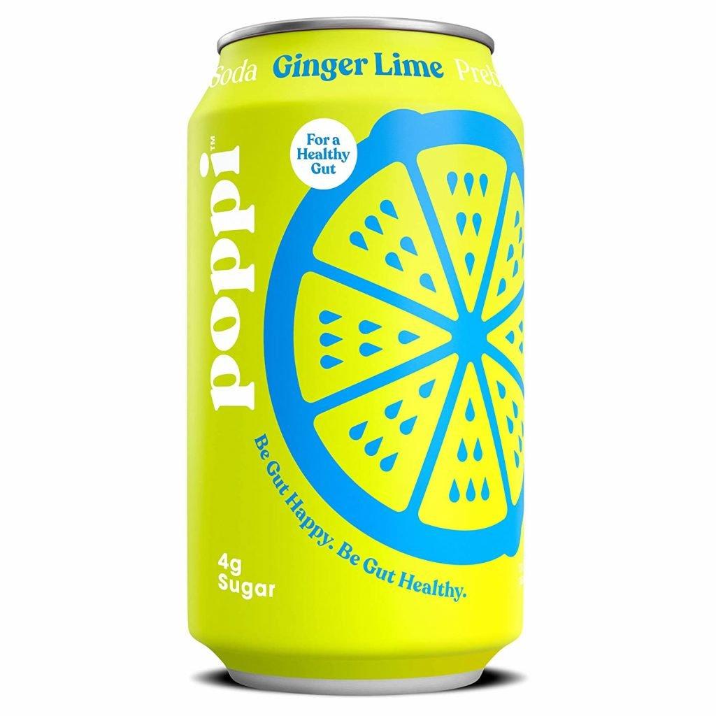 Poppi Ginger Lime Prebiotic drink