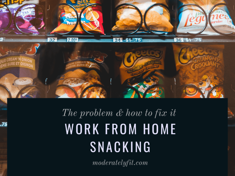 The problem and how to fix it - Work from home snacking - vending machine - blog post image