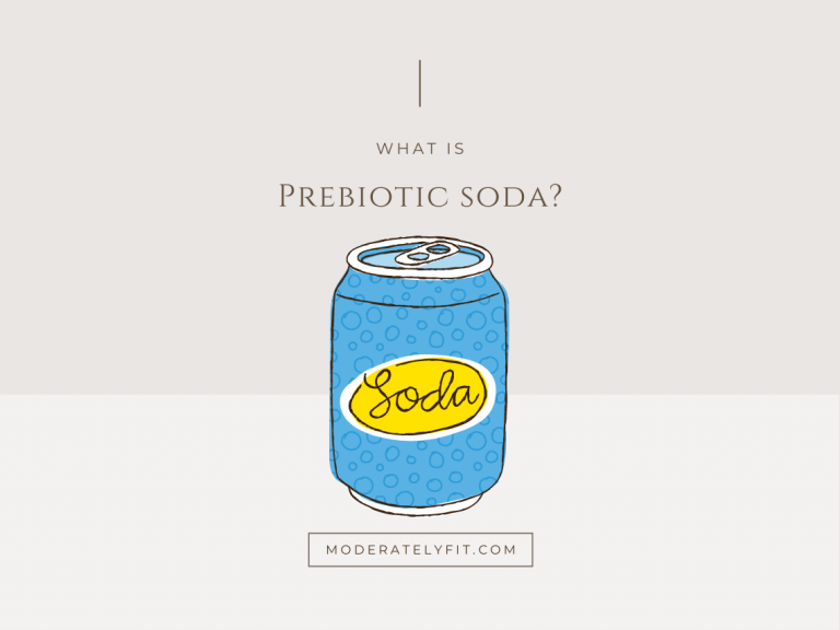 What is prebiotic soda - can image