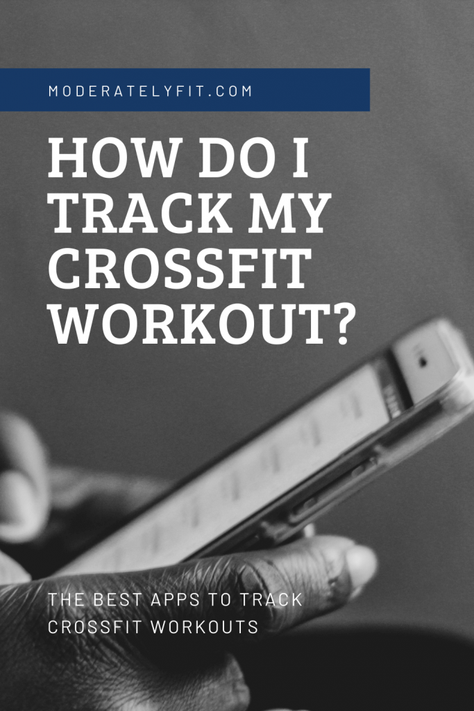 How do I track my crossfit workout? Pinterest pin