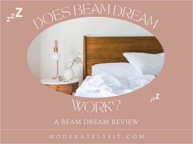 Does beam dream work? A beam dream review - blog post image