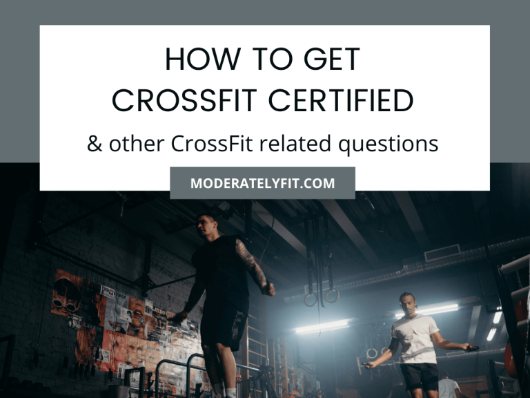 How to get crossfit certified & other CrossFit related questions - blog image