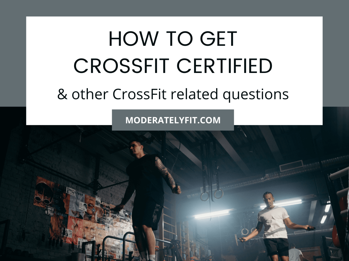 How to get CrossFit certified – & other CrossFit questions