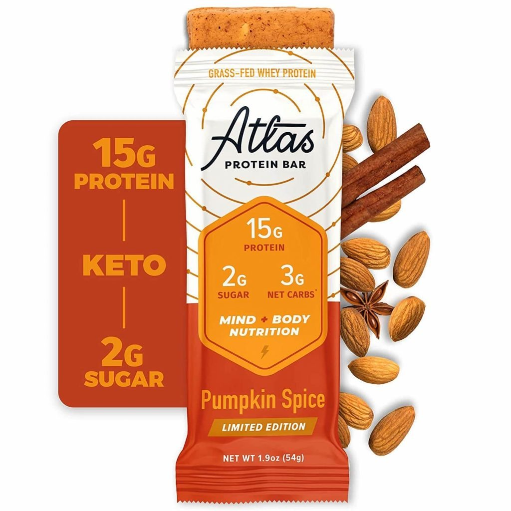 Atlas Protein Bar - Pumpkin spice