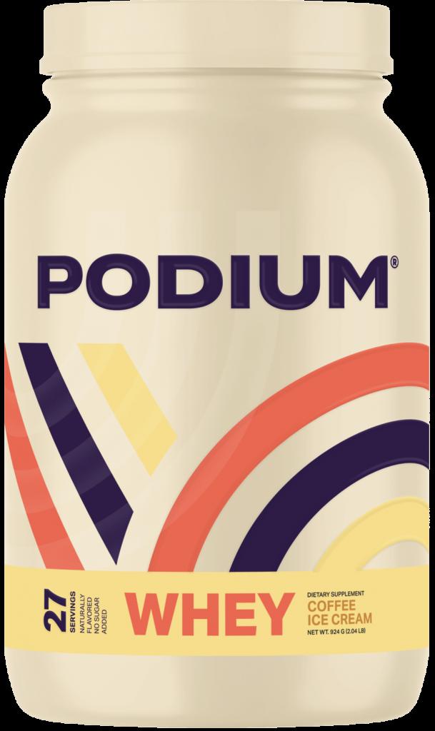 Podium Nutrition Whey Coffee Ice Cream