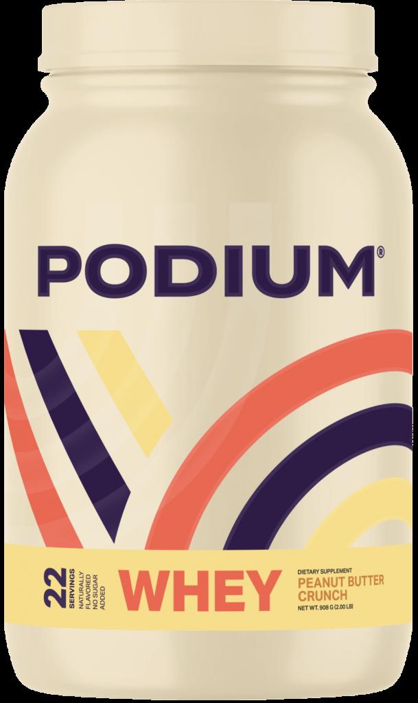 Podium Nutrition Whey Peanut Butter Crunch