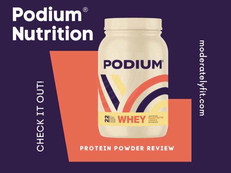 Podium Nutrition Protein Powder review - check it out - blog post image