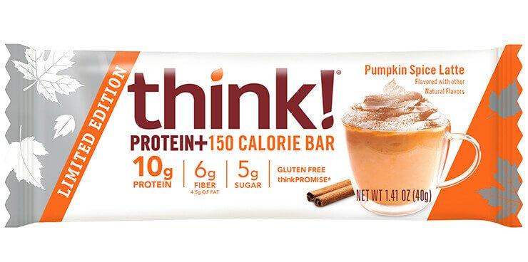 think! 150+ protein bar - pumpkin spice latte